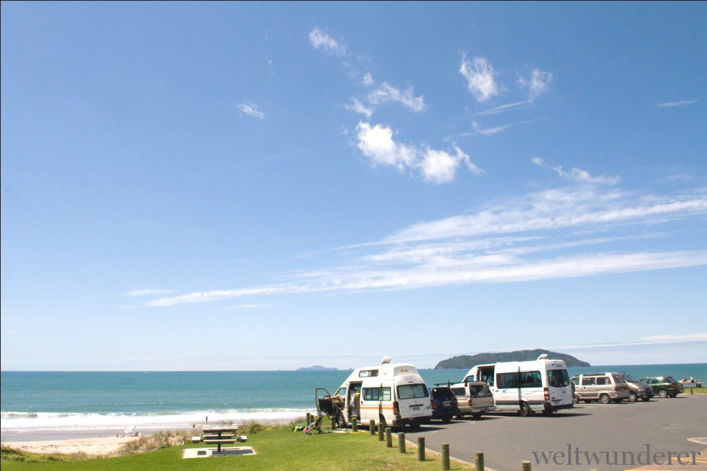 Ocean Beach in Tairua - THE place to be