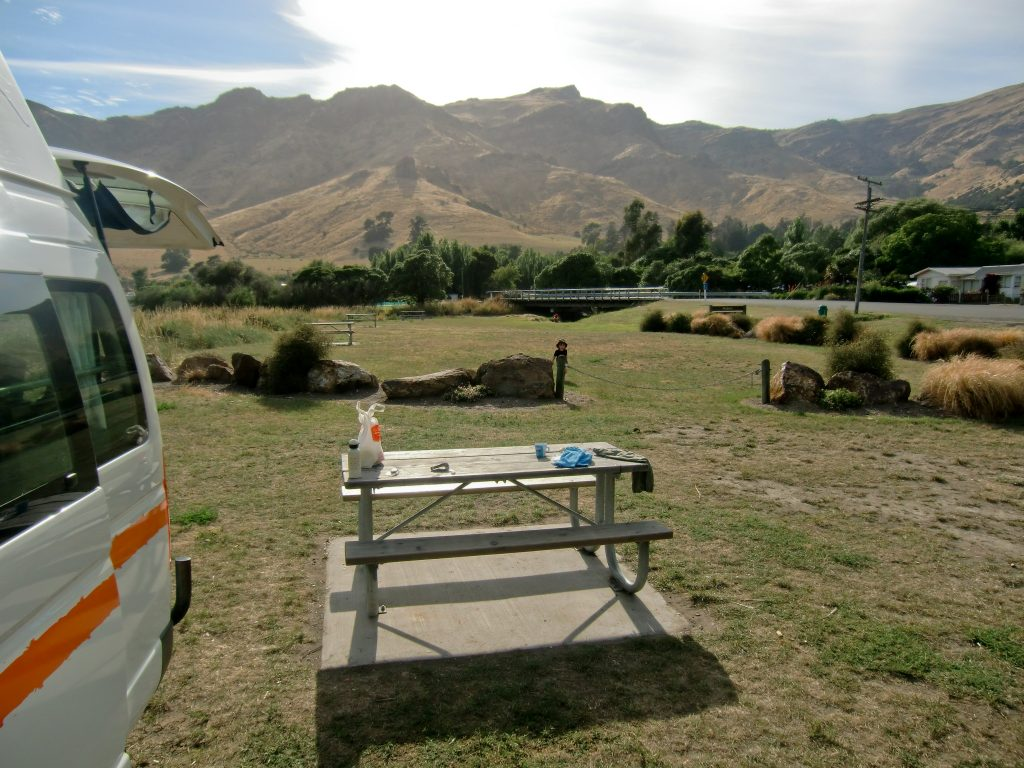 Freedom Camping in Neuseeland 1