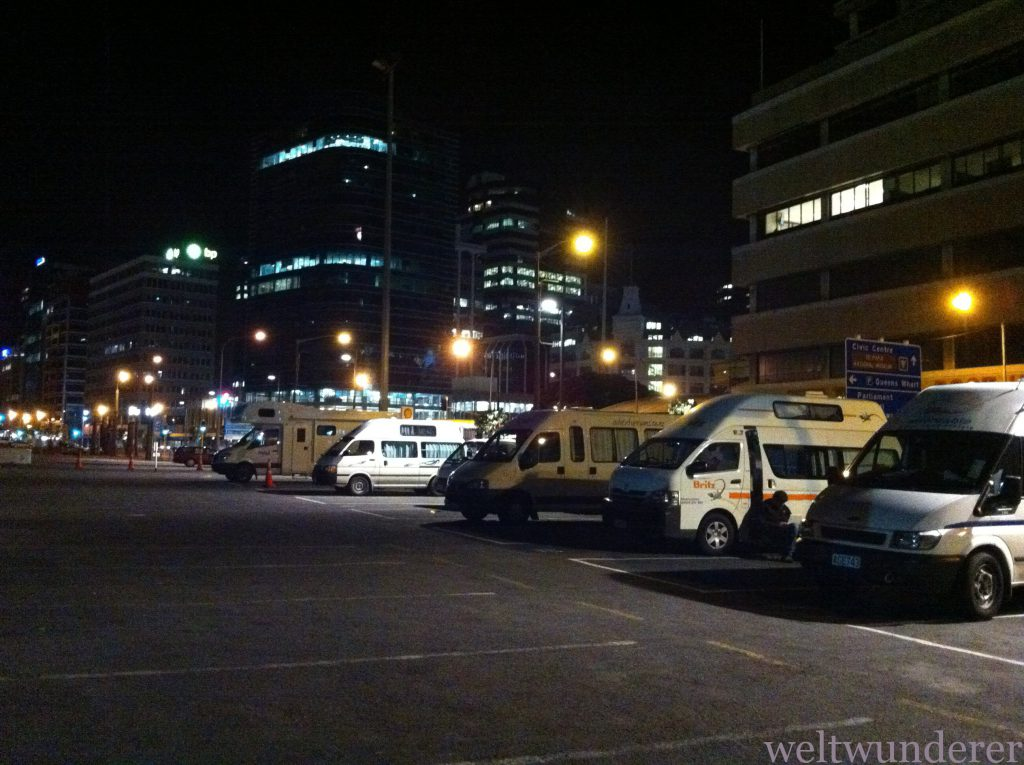 Wellington Waterfront Motorhome Park