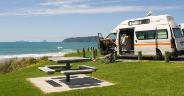 Freedom Camping in Neuseeland 3