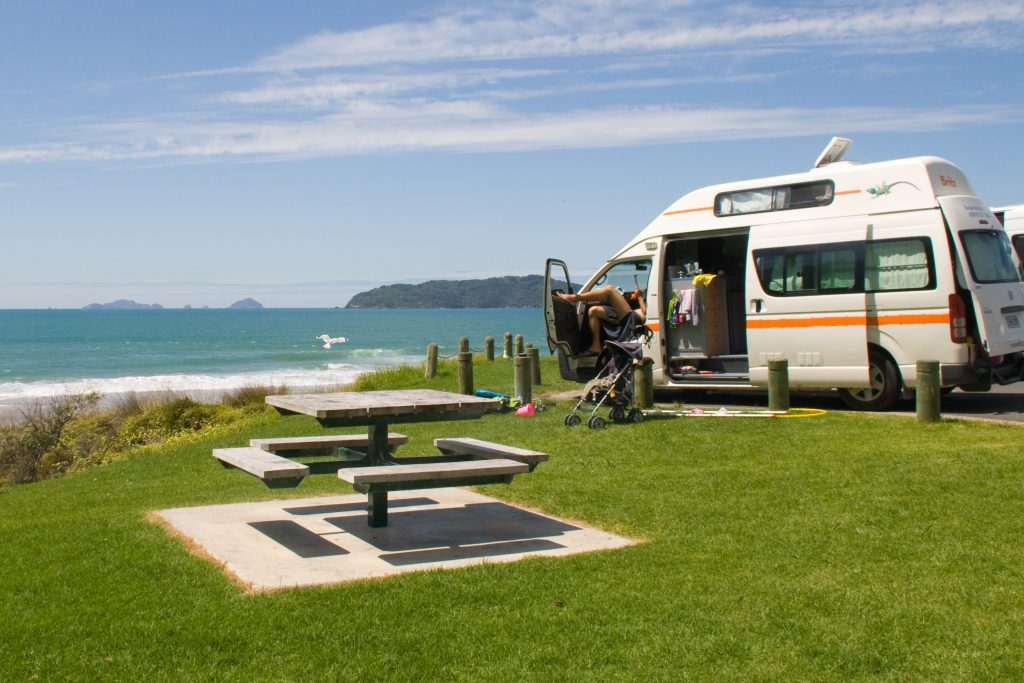 Freedom Camping in Neuseeland 4