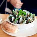 Green lipped Mussels, by Katja Heil