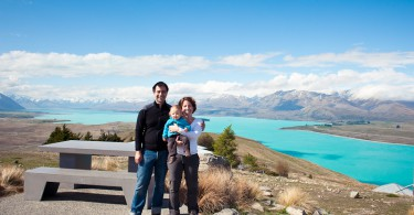 Lake Tekapo, by Katja Heil