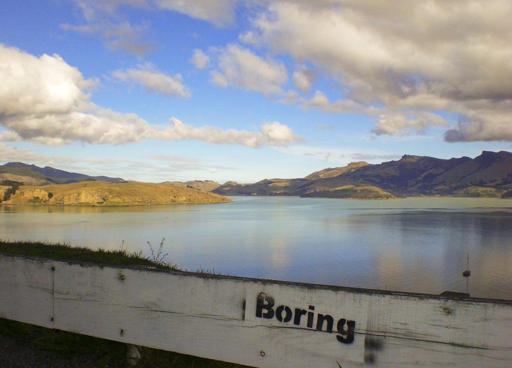 Boring Akaroa by Ugly New Zealand