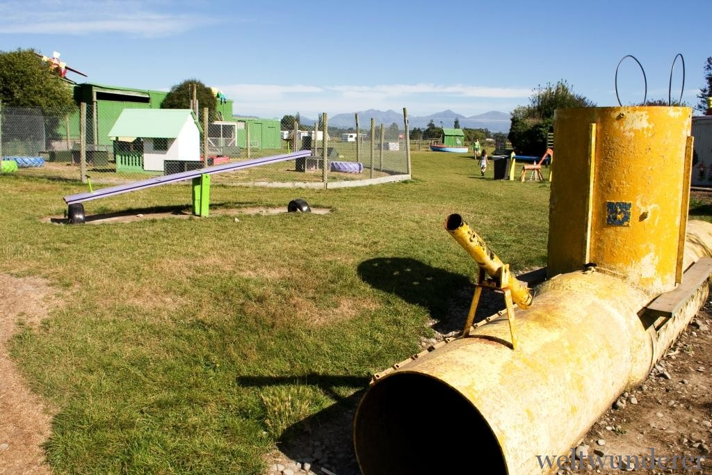 Playground Farmyard Holiday Park Geraldine