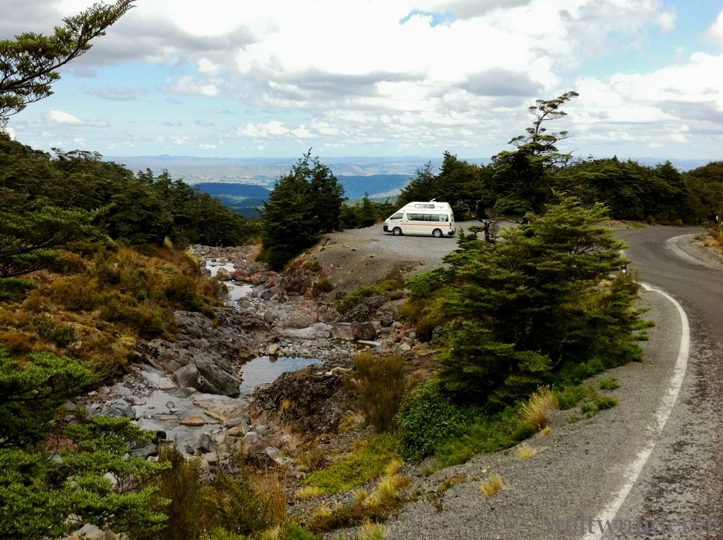 Mangawhero Falls Lookout Ohakune Mountain Road Tongariro National Park