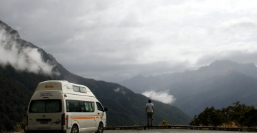 Campervan Milford Road
