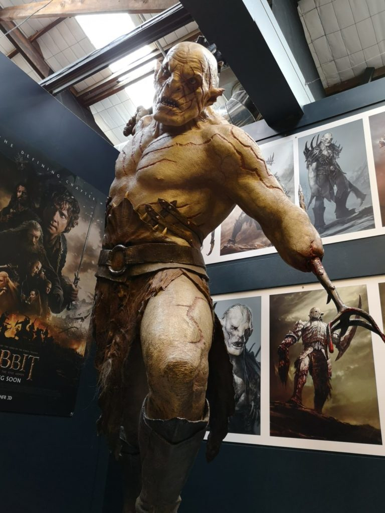 Weta Cave Studio Tour Wellington Azog