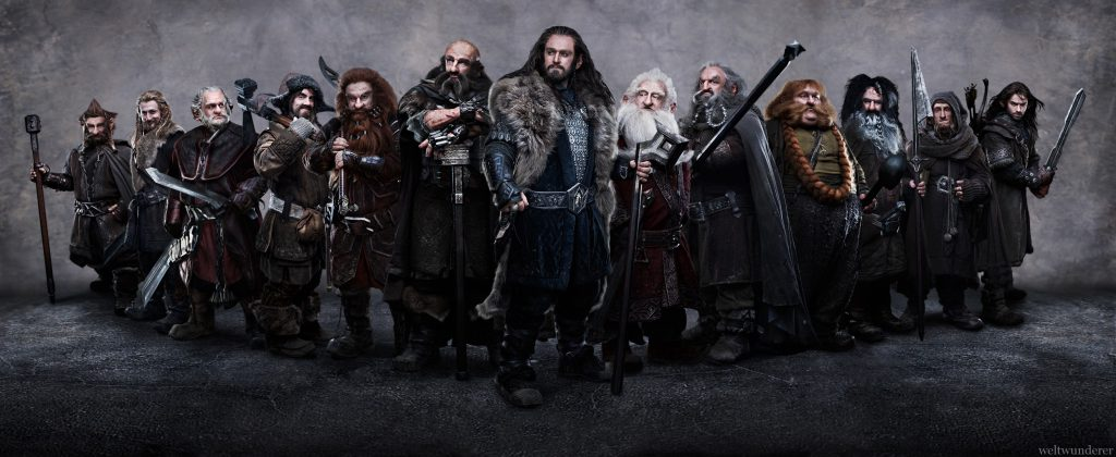 13 Dwarves The Hobbit