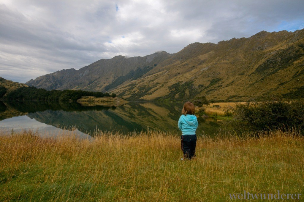 Neuseeland für Familien Favoriten Südinsel Moke Lake