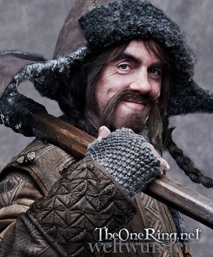 James Nesbitt as Bofur in The Hobbit