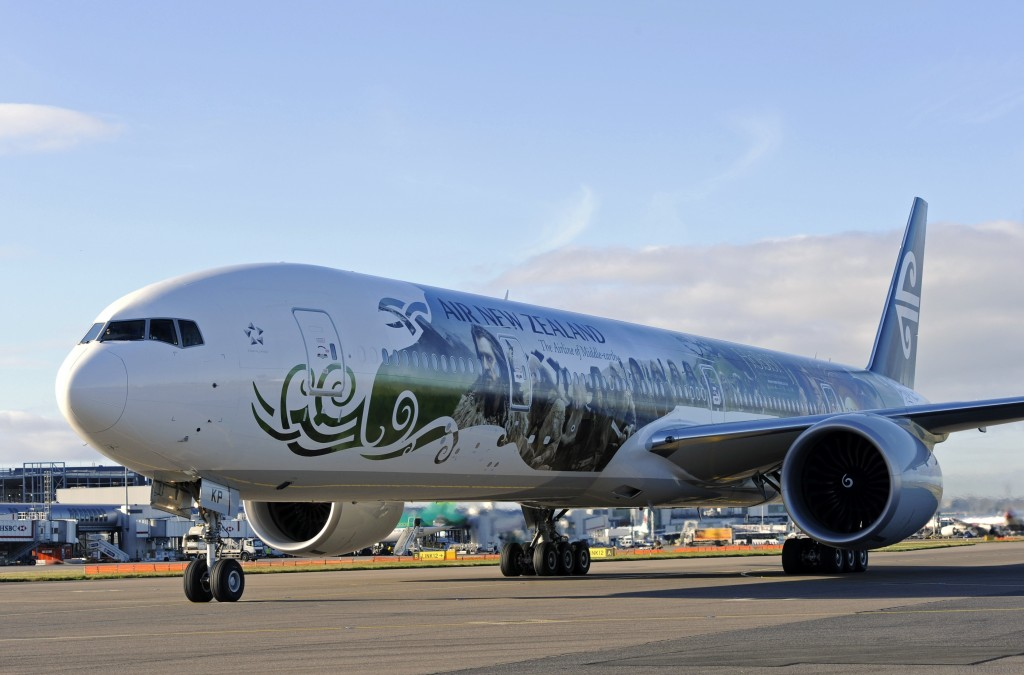Air New Zealand Hobbit Aircraft