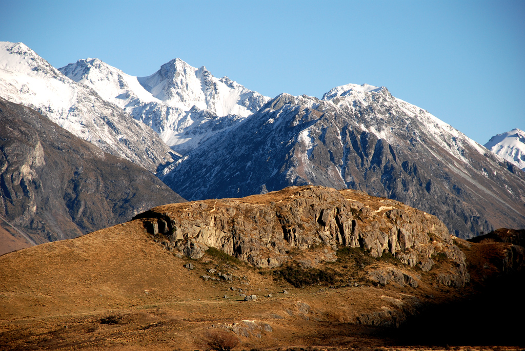 Mount Sunday aka Edoras (c) PhillipC/Flickr