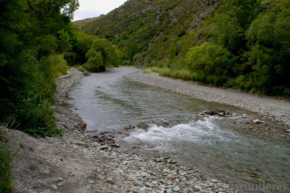 Bruinen ford at Arrow River in Arrowtown