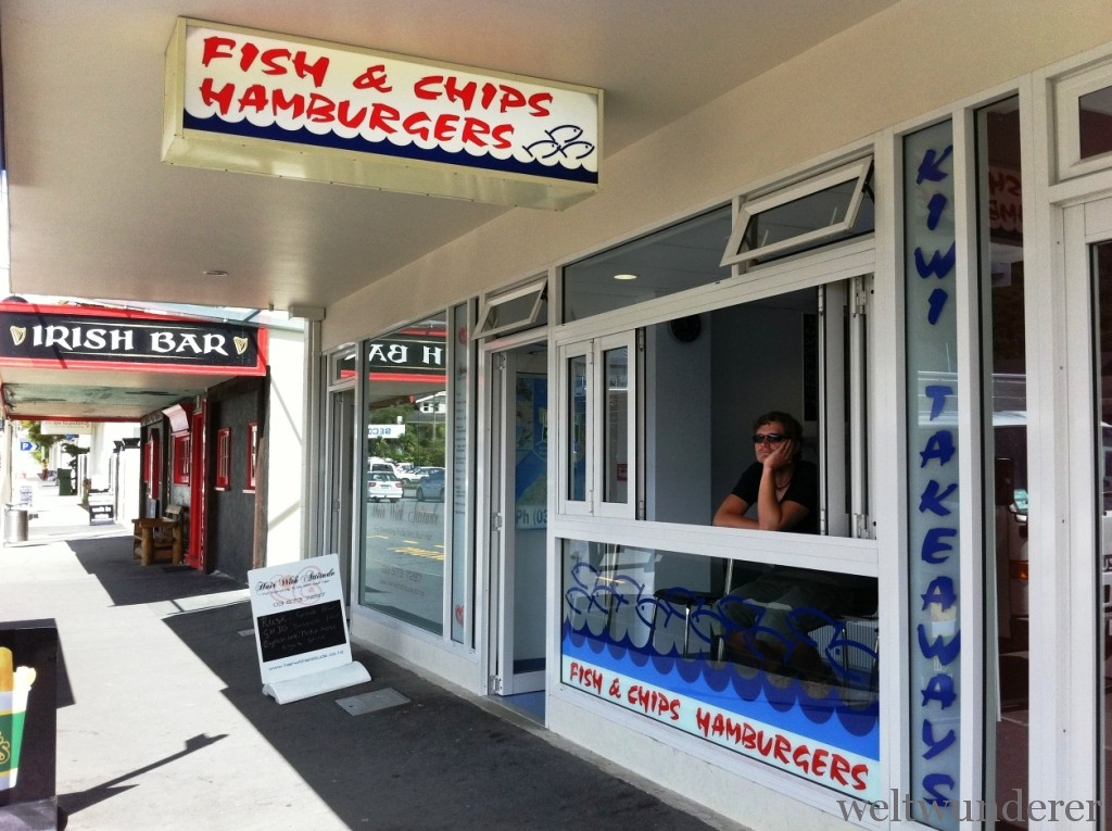 Fish and Chips in Picton