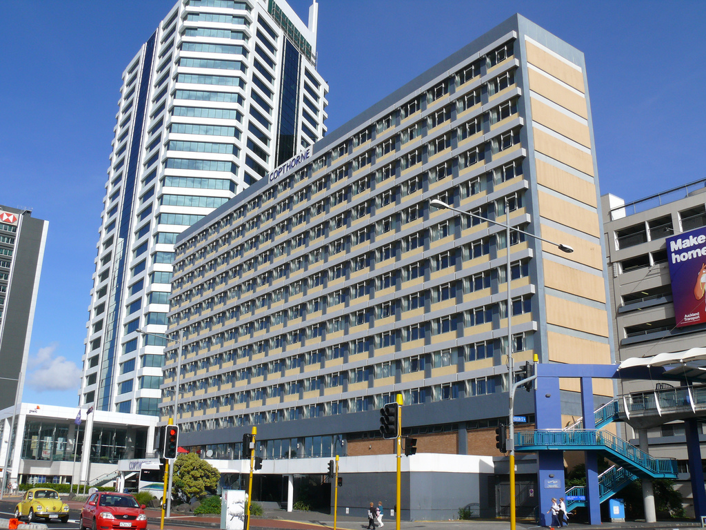 Hotels in Neuseeland Copthorne Hotel Auckland Flickr/chatani
