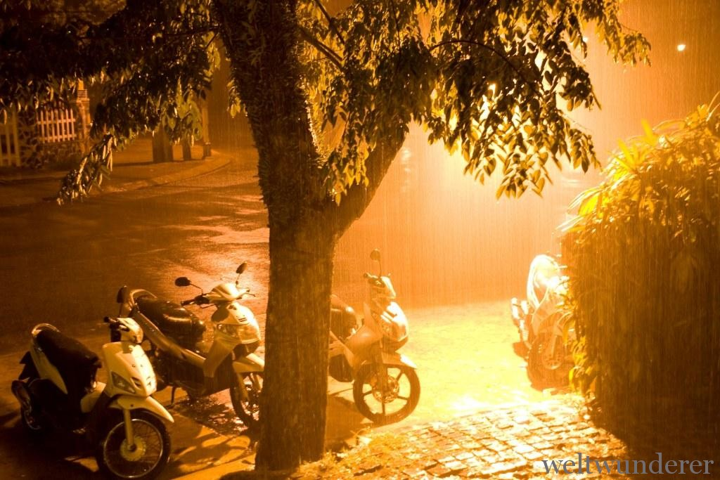 Rainy season in Hoi An