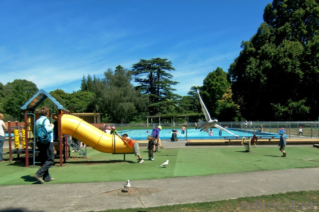 Christchurch Hagley Park Playground