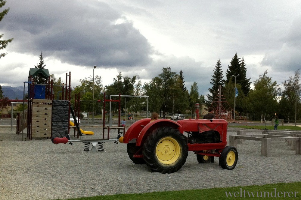 Playground in Twizel NZ