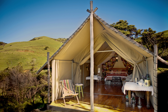 Glamping in NZ (c) Amanda Reelick/good.net.nz