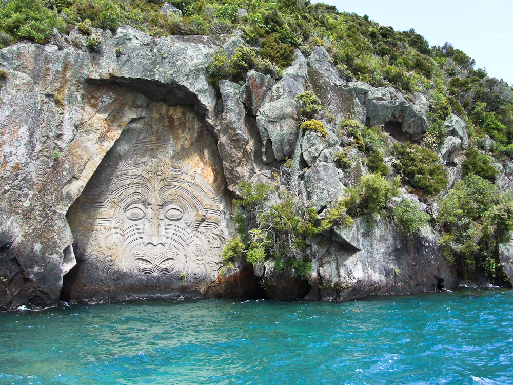Maori Rock Carvings Lake Taupo_Abaconda