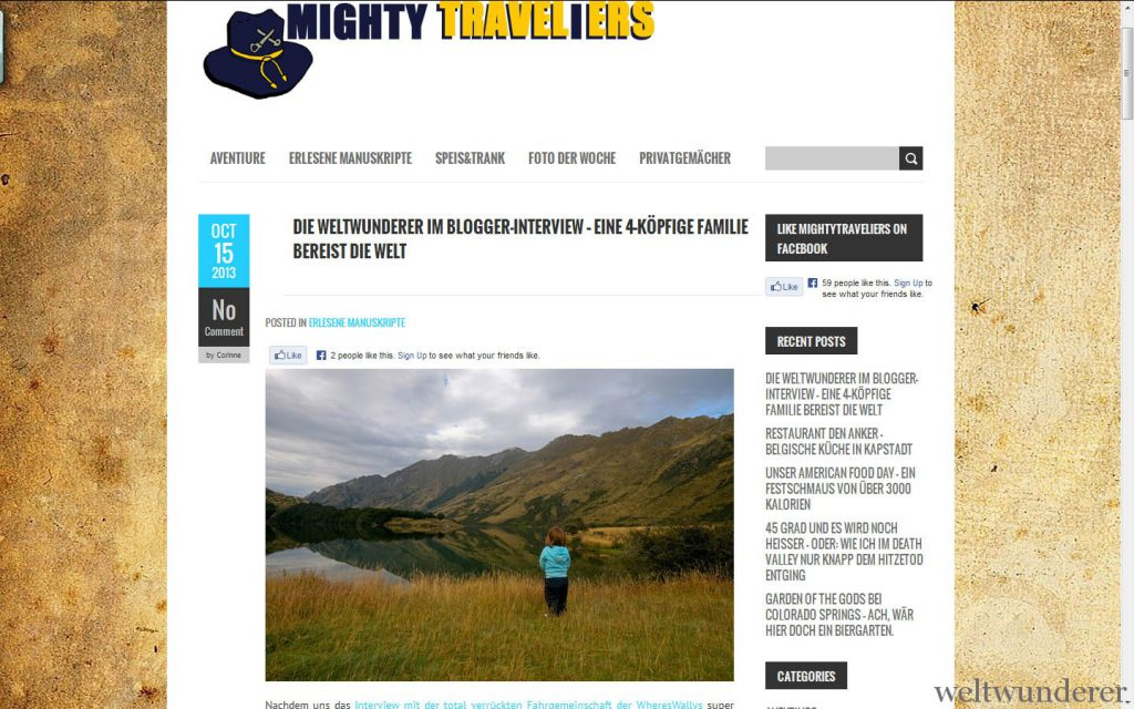 Mighty Traveliers