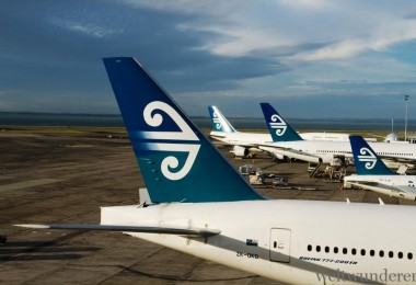 Weltwunderer Air New Zealand