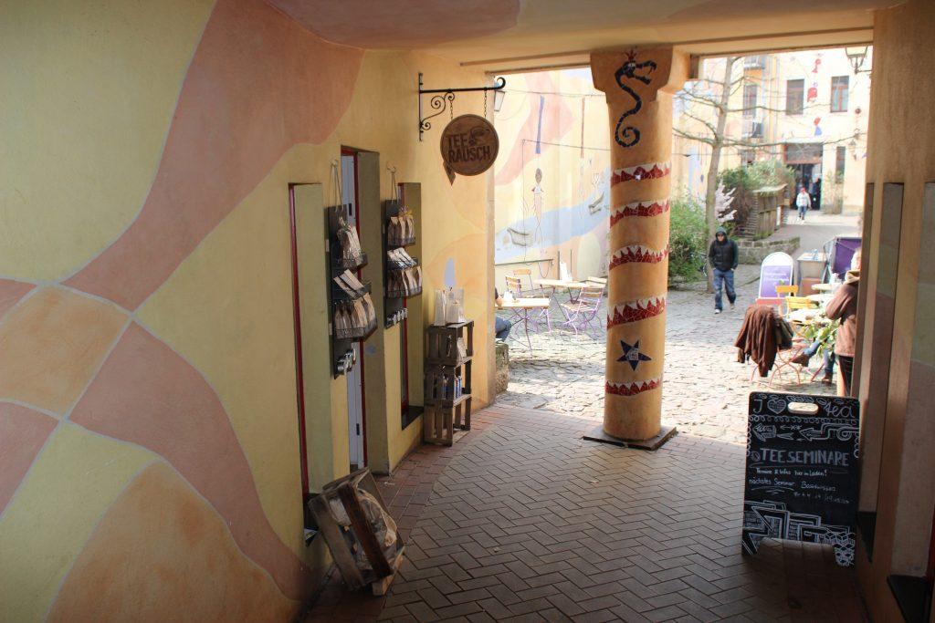 Dresden Neustadt mit Kindern Kunsthof
