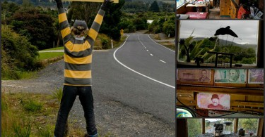 "Catlins mit Kindern: ""Lost Gypsy Gallery"" in Papatowai 5"