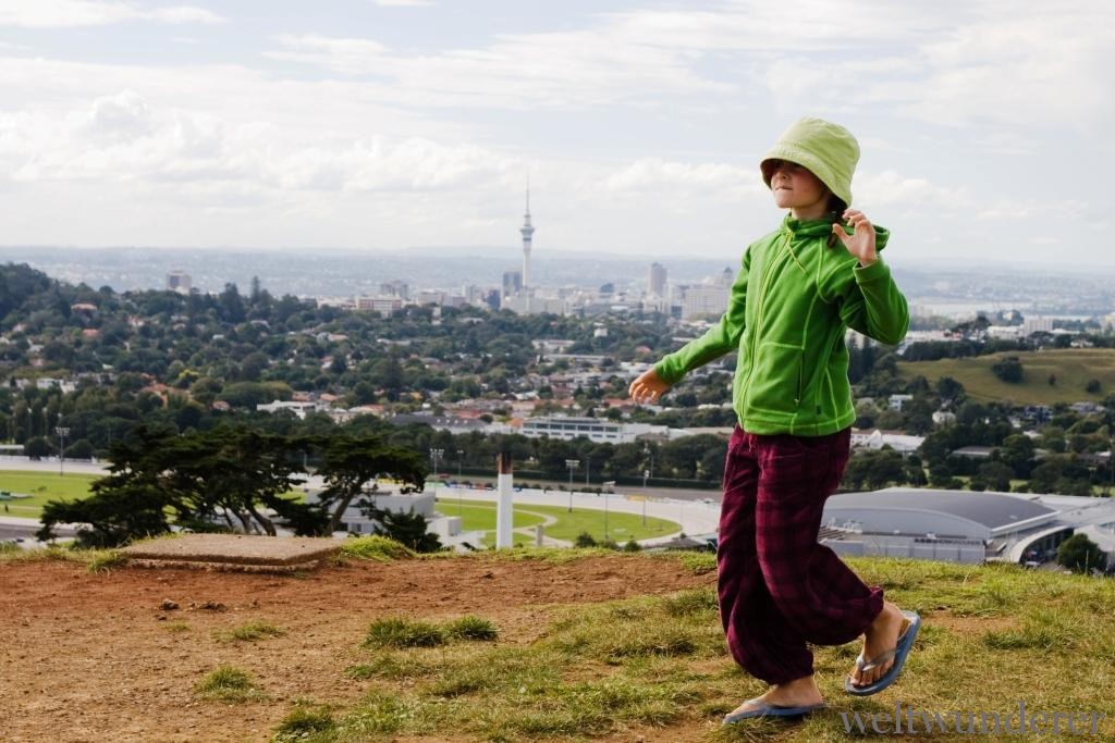 Weltwunderer Auckland One Tree Hill