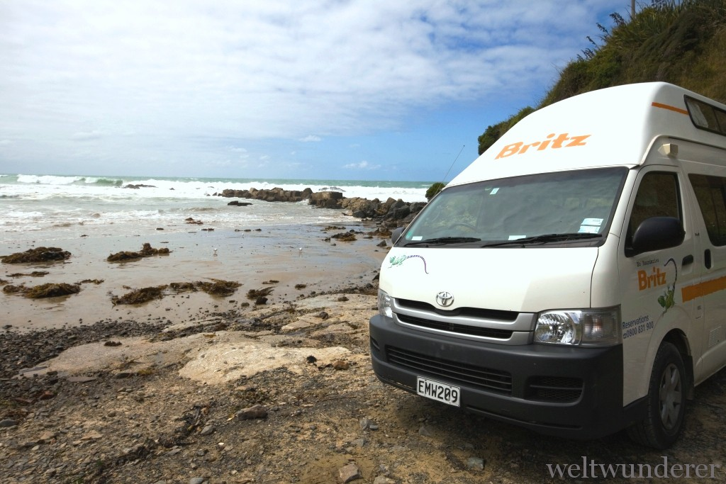 Wohnmobil Campervan Neuseeland