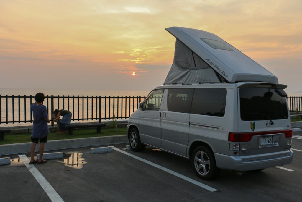 Weltwunderer Japan Campervan