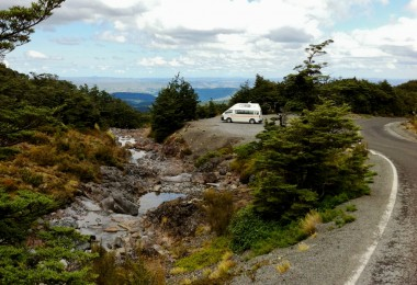 Weltwunderer Campervan New Zealand Mangawhero Falls