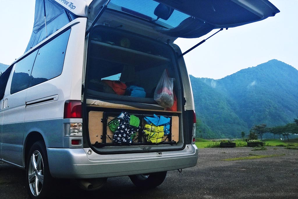 Weltwunderer Campervan Japan