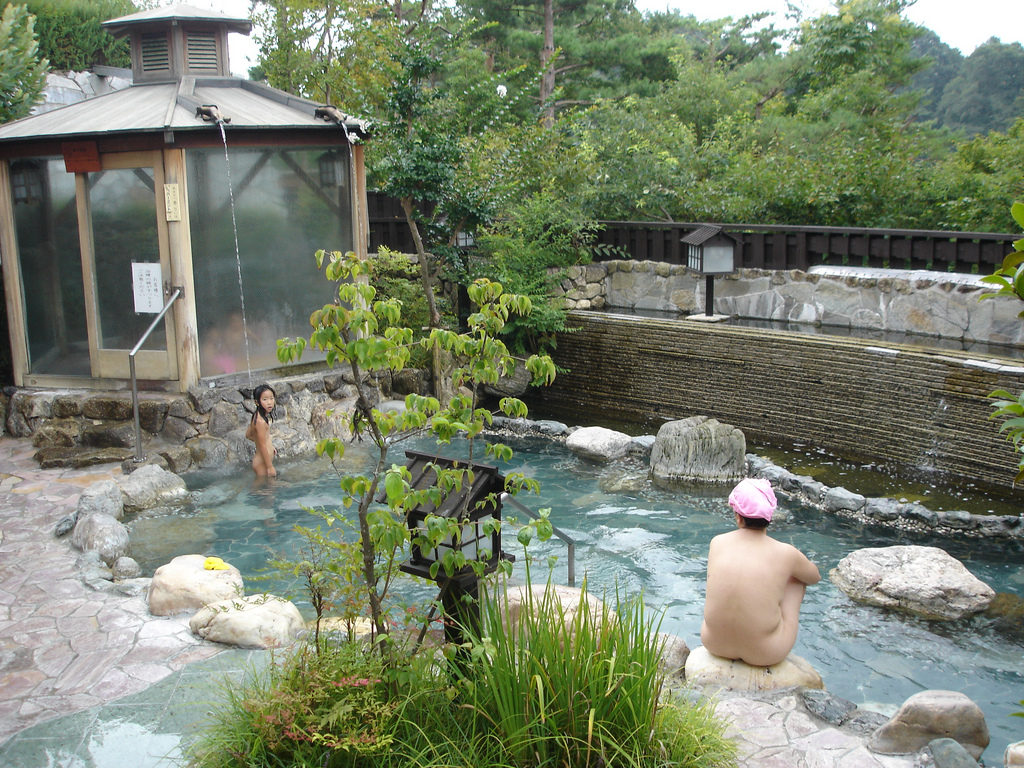 Weltwunderer Japan Onsen Flickr