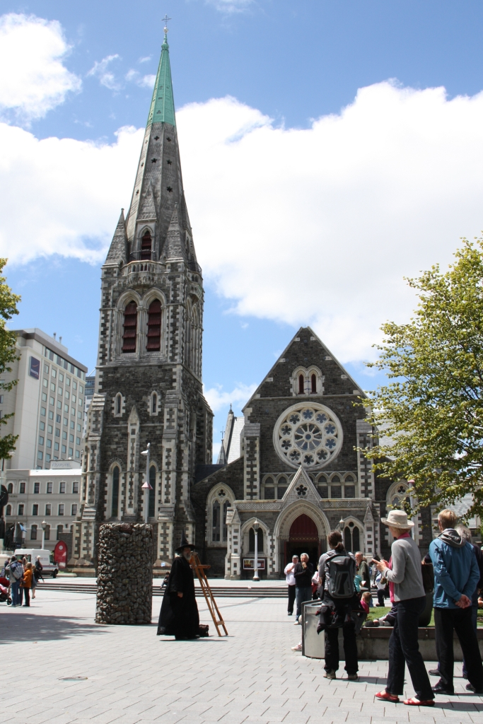 Weltwunderer New Zealand Christchurch Familien Cathedral