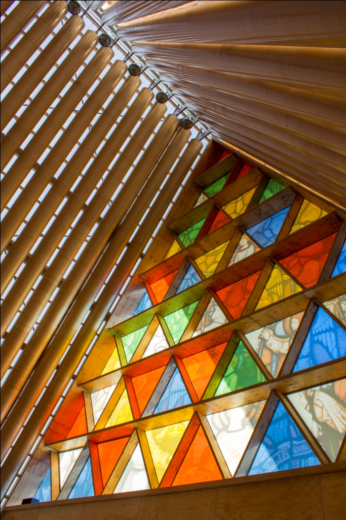 Weltwunderer New Zealand Christchurch Familien Cardboard Cathedral