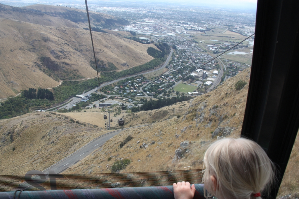 Weltwunderer New Zealand Christchurch Familien Gondola Lyttelton