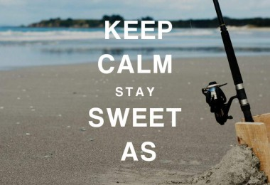 Weltwunderer Keep calm stay sweet as