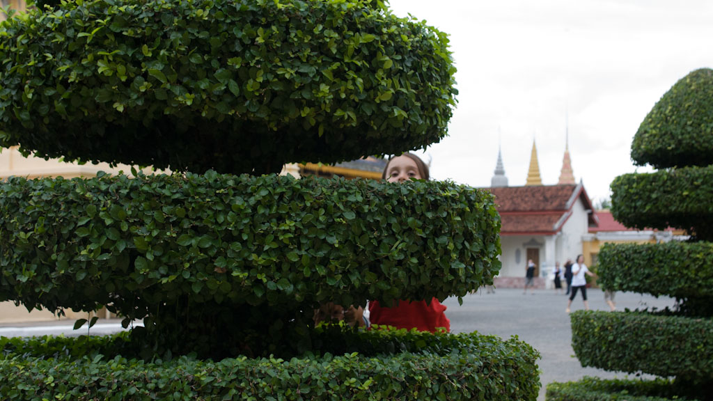 Weltwunderer Kambodscha Phnom Penh