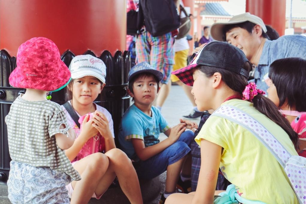 Tokio mit Kindern Sensoji Schrein