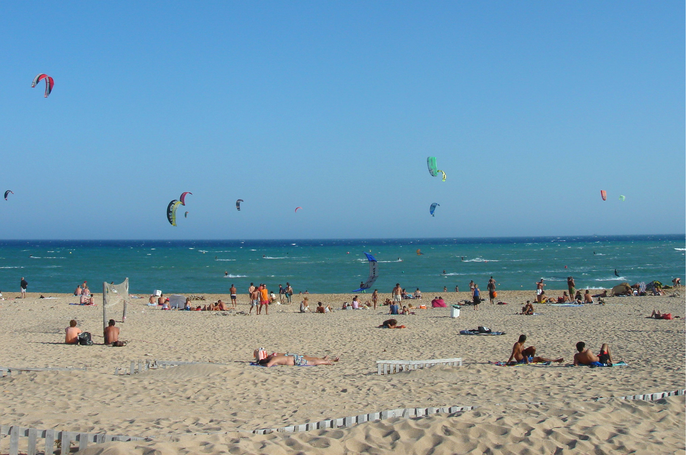 Andalusien mit Kindern Tarifa Beach Hiddengem.de