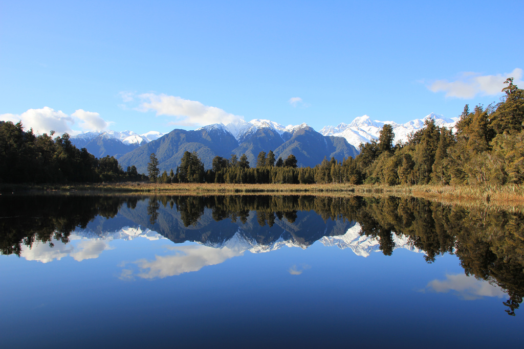 Seen in Neuseeland Department of Conservation Lake Matheson