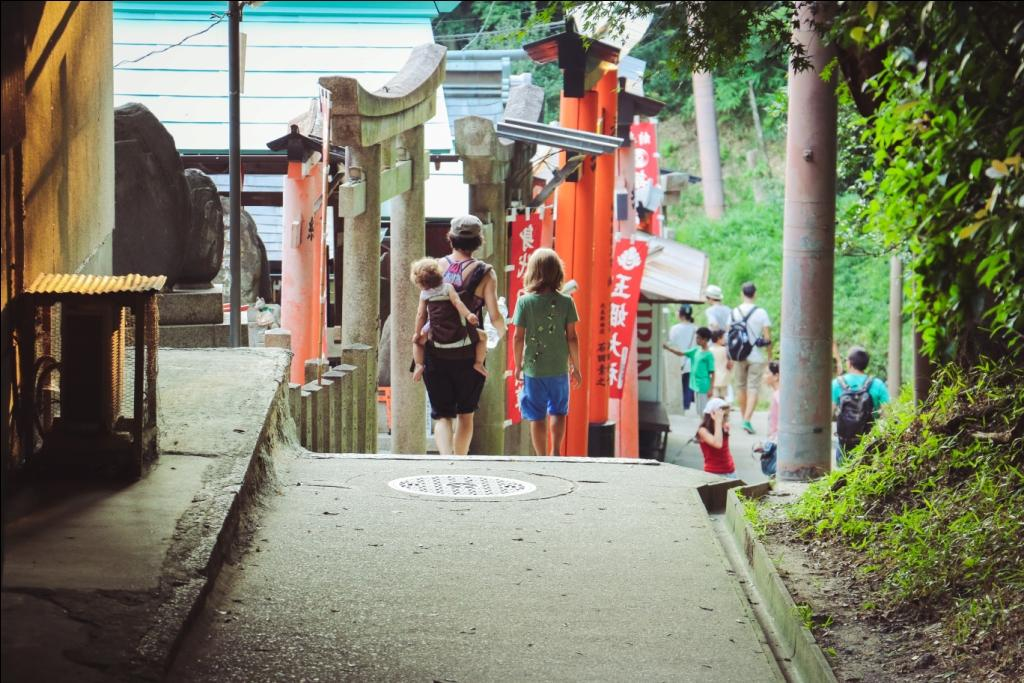 Sommerhitze Tipps Familie Kyoto Japan