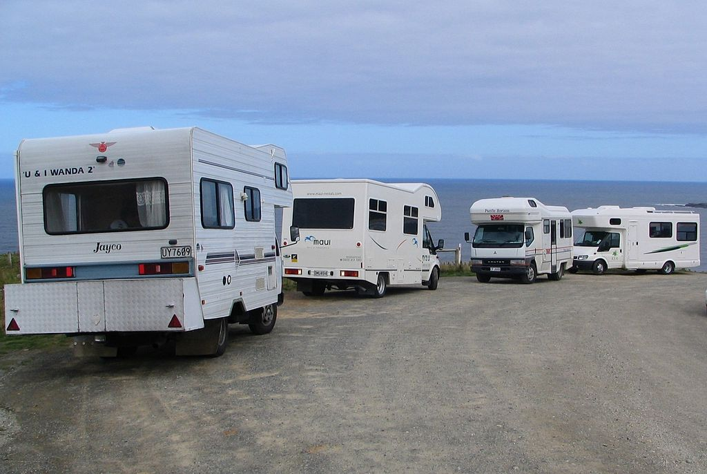 Freedom Camping Campervans Wikimedia Commons