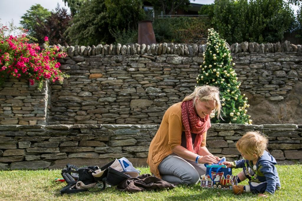 Weihnachten in Neuseeland mit Baby