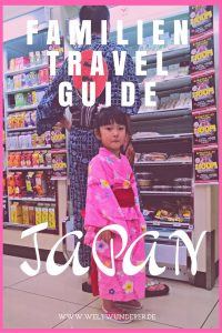 Familien Travel Guide Japan mit Kindern