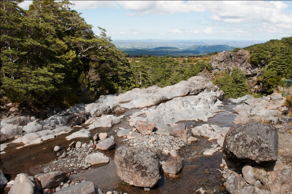Tongariro National Park mit Kindern Mangawhero Falls