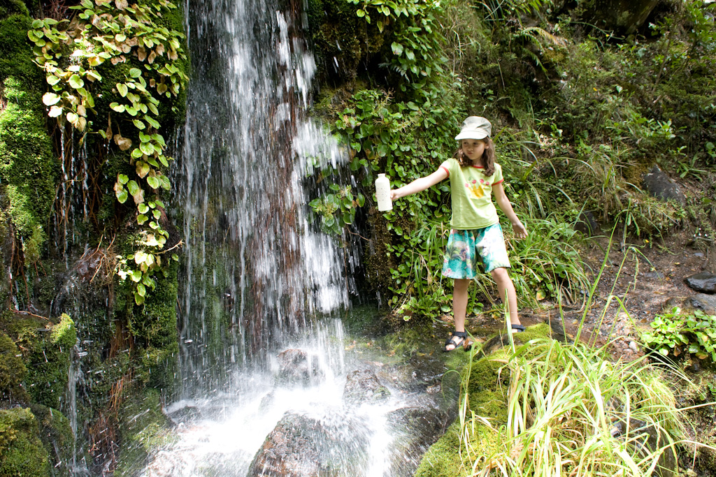 Tongariro National Park mit Kindern Waitonga Falls