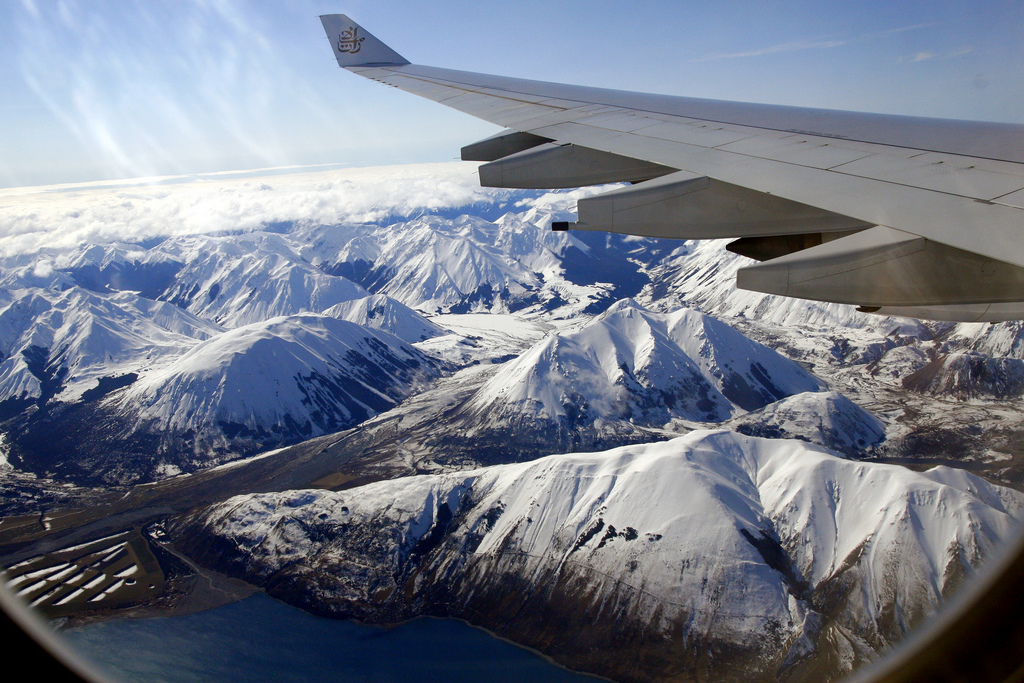 lensmate New Zealand from the Air Fliegen nach Neuseeland Fragen